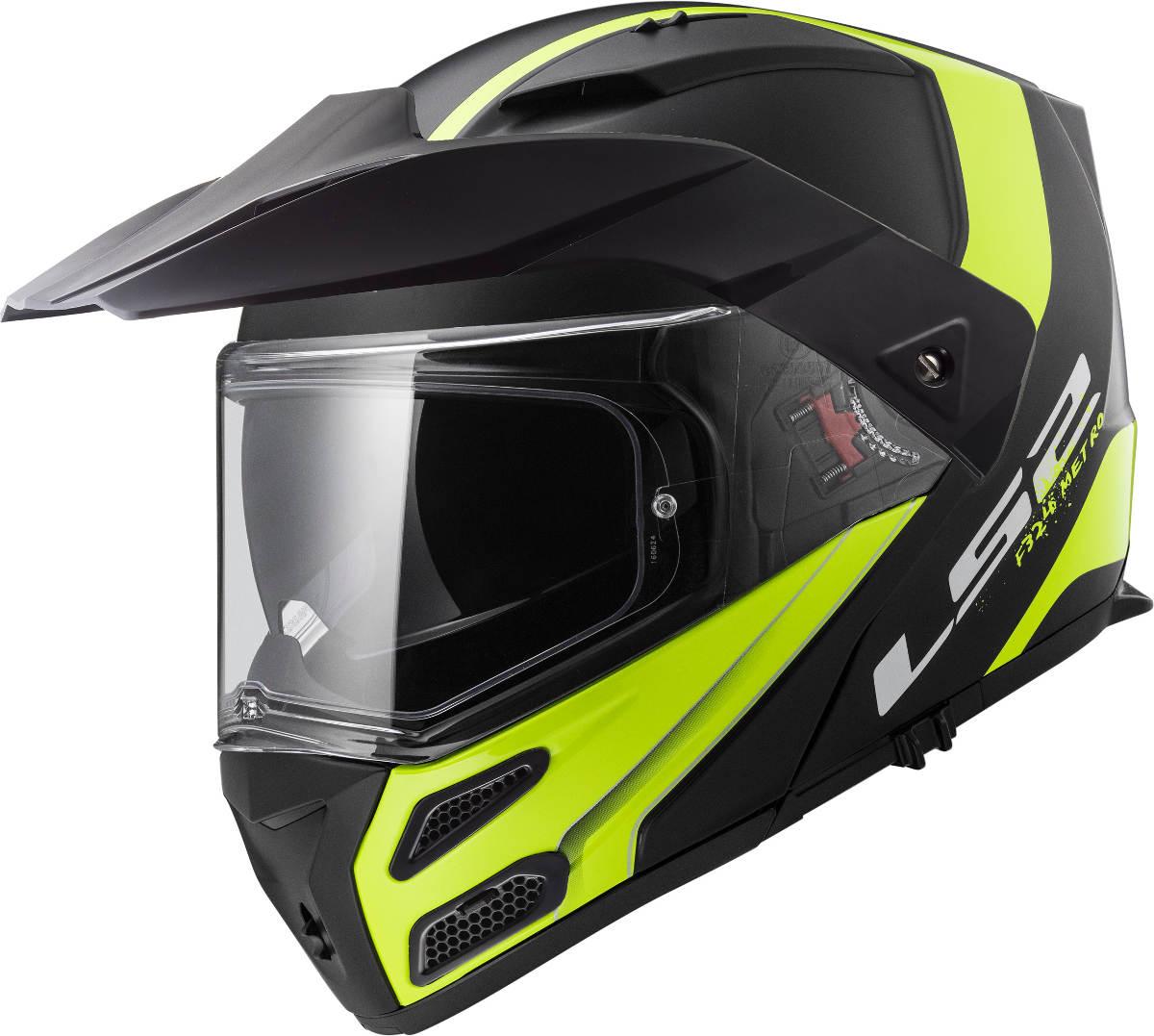 LS2 Metro Evo Helmet Hi Viz Yellow