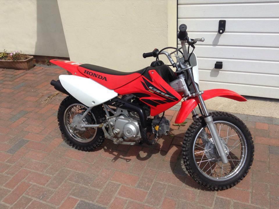Stolen Honda CRF70