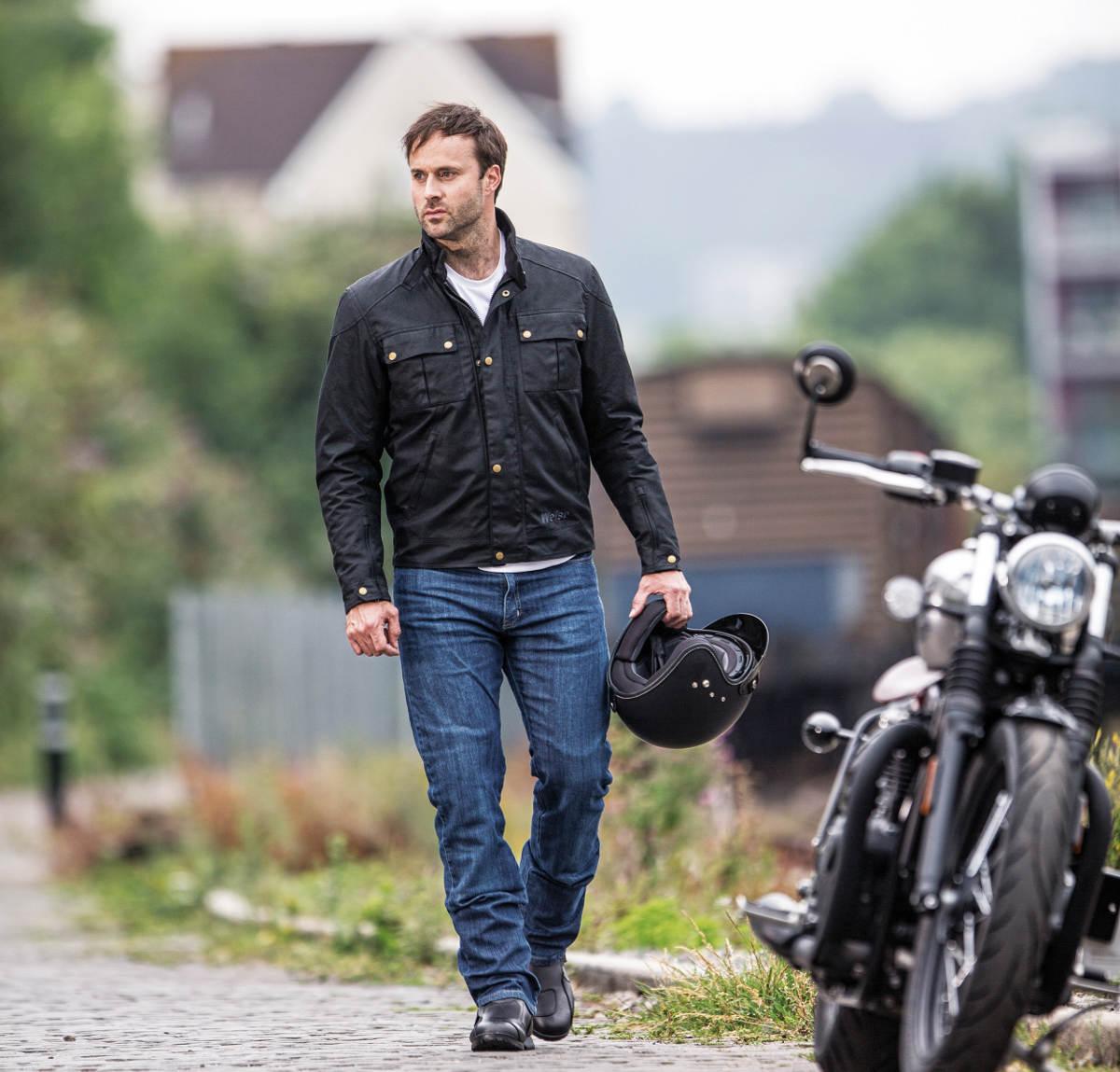 Weise Ashland Wax Cotton Motorcycle Jacket