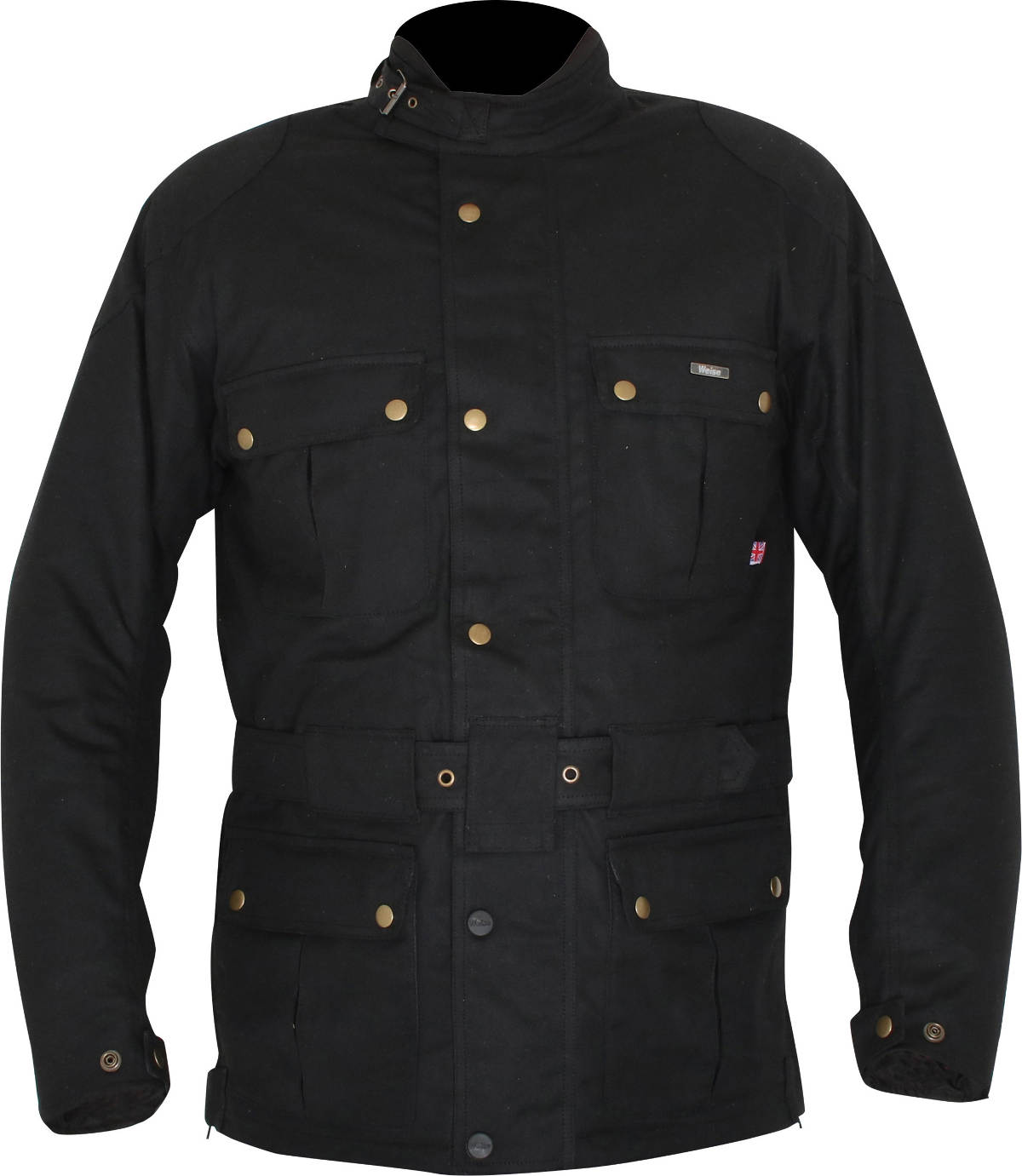 Weise Wax Cotton Motorcycle Jackets - The Weise Glenmore Wax Cotton Motorcycle Jacket