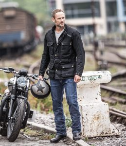 Two New Weise Wax Cotton Motorcycle Jackets