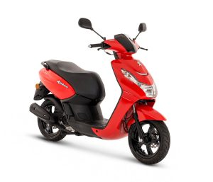 2018 Peugeot Kisbee 50 in Flat 6 Red