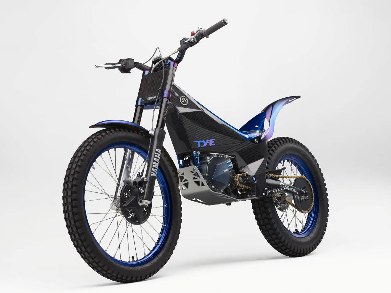 yamaha ty e electric trial bike to compete in fim trial e. Black Bedroom Furniture Sets. Home Design Ideas