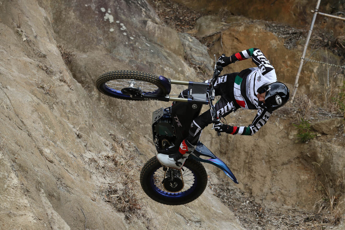 Yamaha ty e electric trial bike to compete in fim trial e for Yamaha trials bike