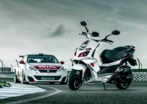 Touring Car Inspired 2018 Peugeot Speedfight 125 R-CUP