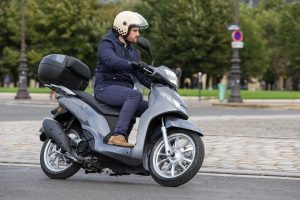 New Big Wheel Peugeot Belville Scooters Arrive In UK