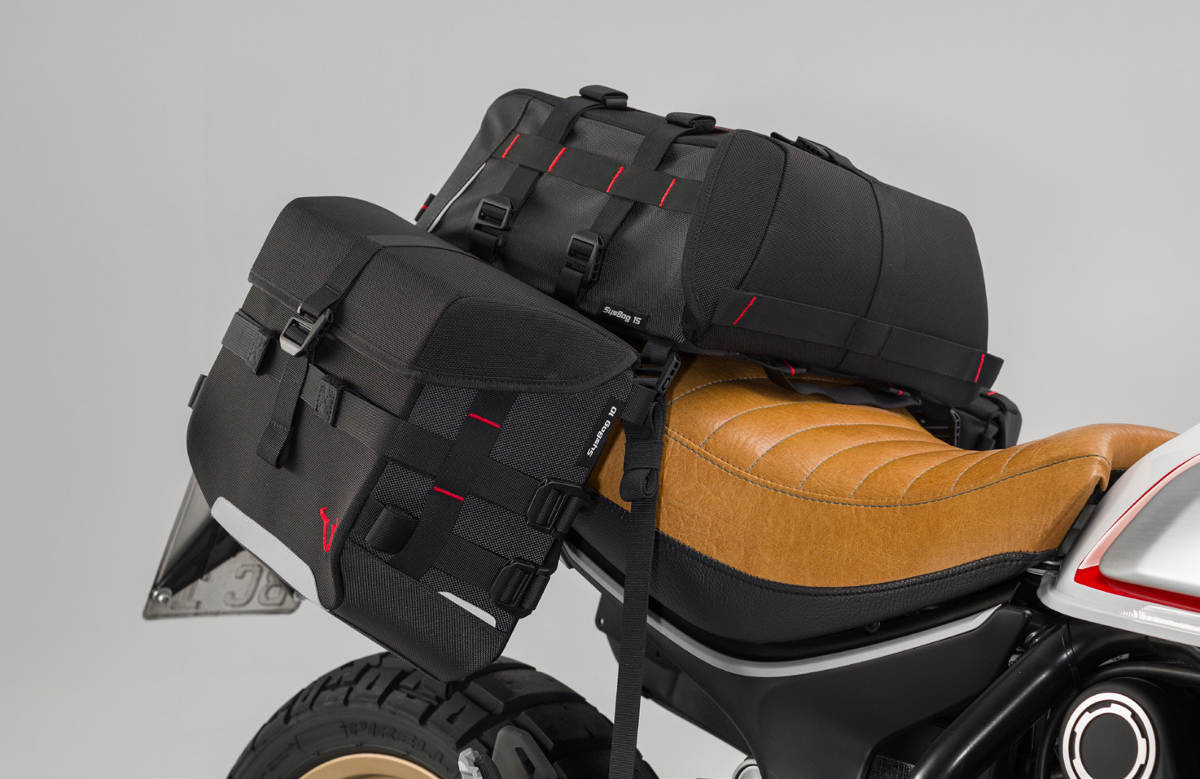SW Motech SysBag Luggage System Tail Pack and Bags