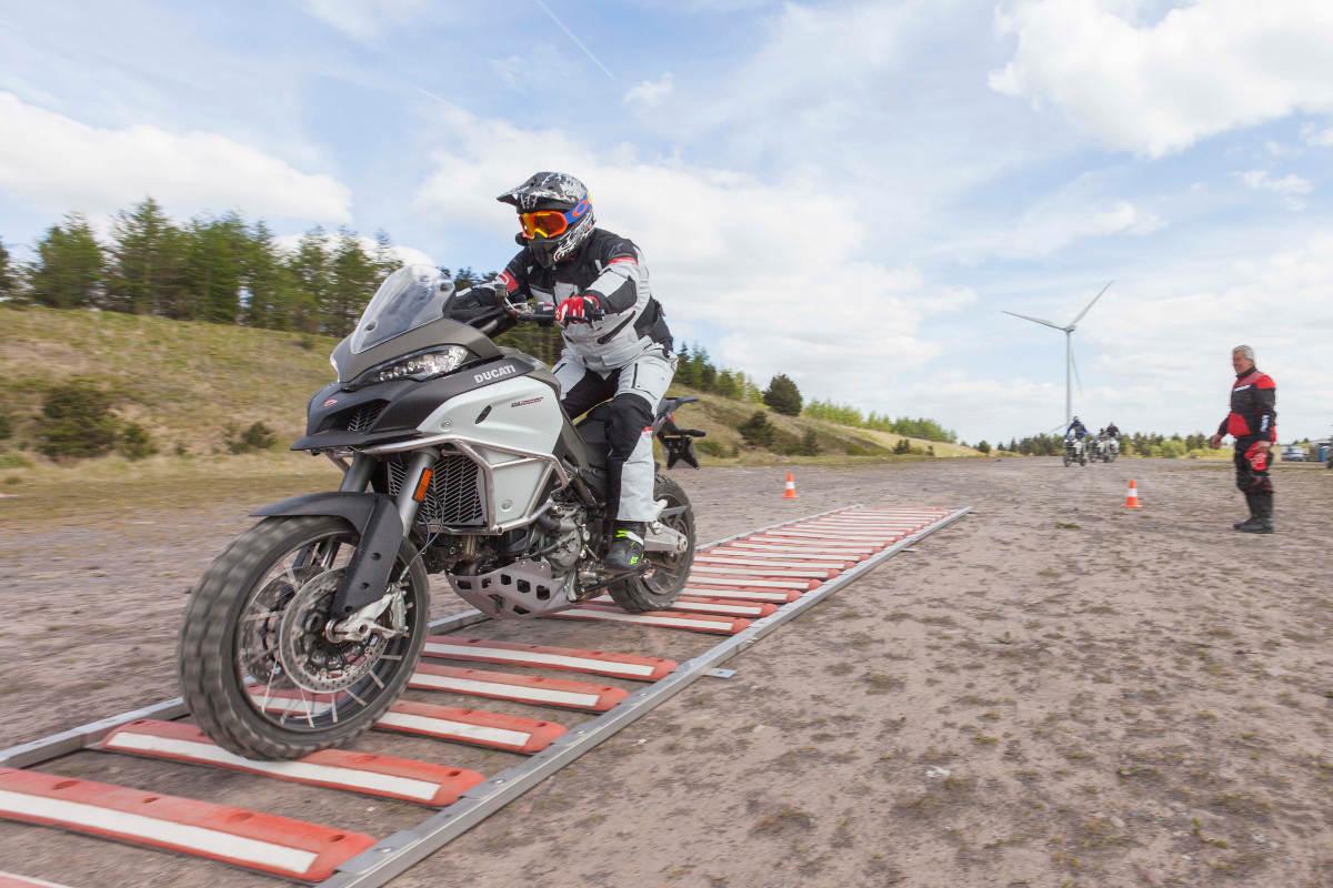 The Ducati Multistrada Experience Bumps