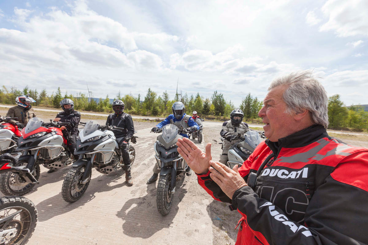 The Ducati Multistrada Experience Instruction
