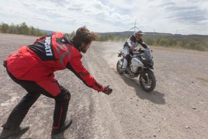 Try A Ducati Multistrada Experience at the Touratech Travel Event