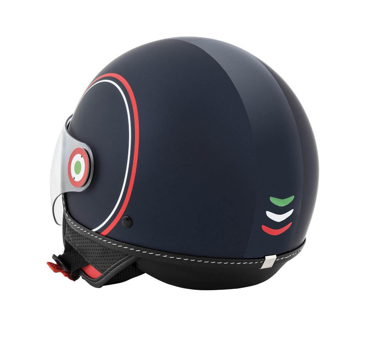 Vespa Modernist Helmet Rear