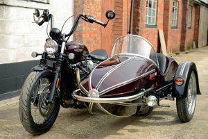 Watsonian Sidecars Now Fit the Triumph Bobber Front View