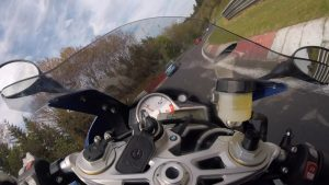 Amazing Lucky Escape for Nurburgring Rider