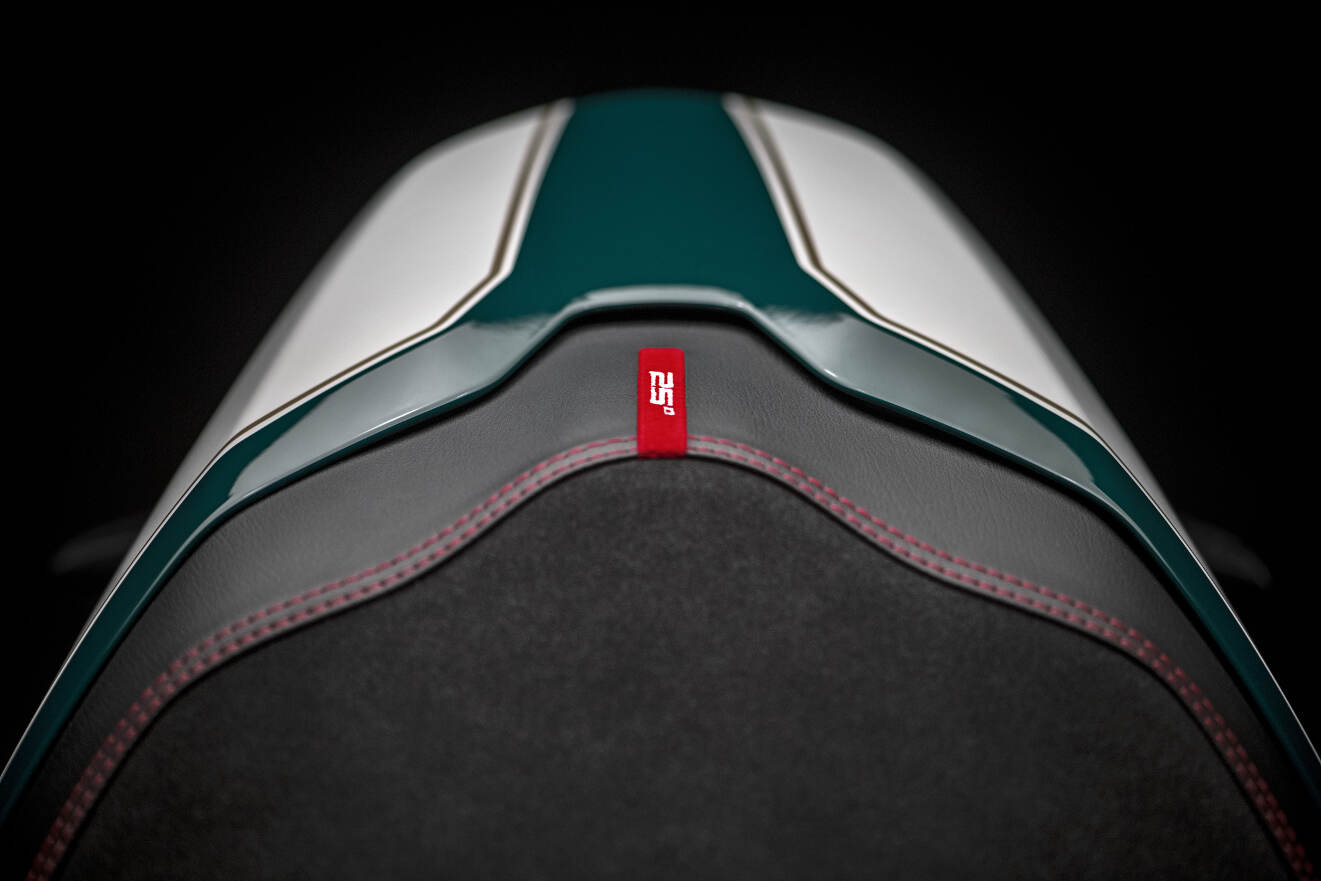 2018 Ducati Monster 1200 25 Anniversario Passenger Seat Cover