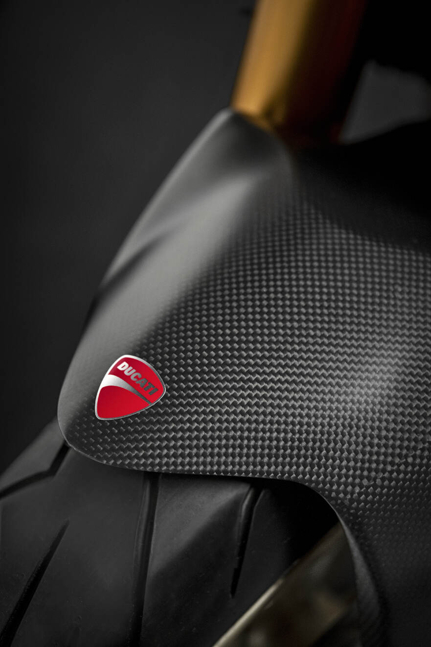 2018 Ducati Monster 1200 25 Anniversario Carbon Fibre Front Mudguard