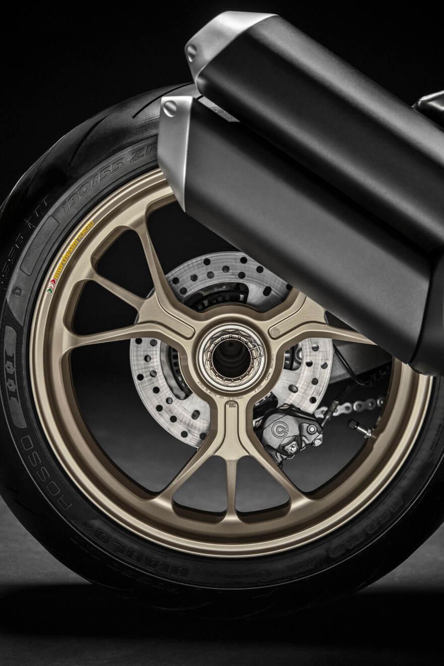 2018 Ducati Monster 1200 25 Anniversario Gold Marchesini Wheels