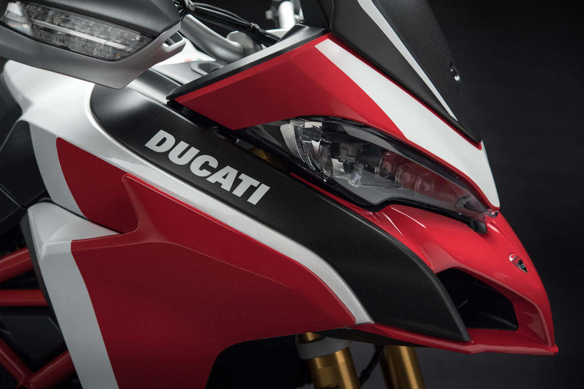 2018 Ducati Multistrada 1260 Pikes Peak Edition Fairing