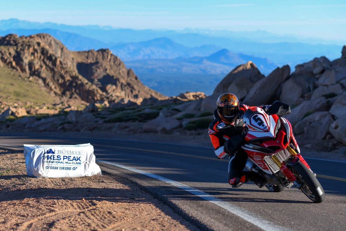 Ducati Multistrada Wins The 2018 Pikes Peak International Hill Climb