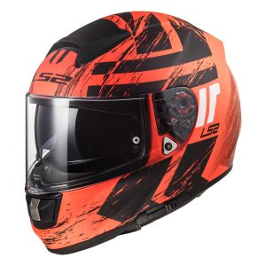 LS2 Vector Helmet in HPFC with the Hunter Graphics Design