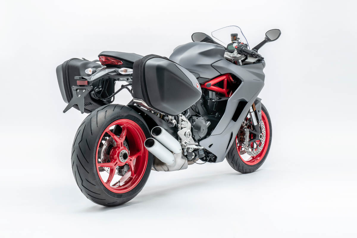 2018 Ducati SuperSport Now Comes Only In Titanium Grey - Rear View