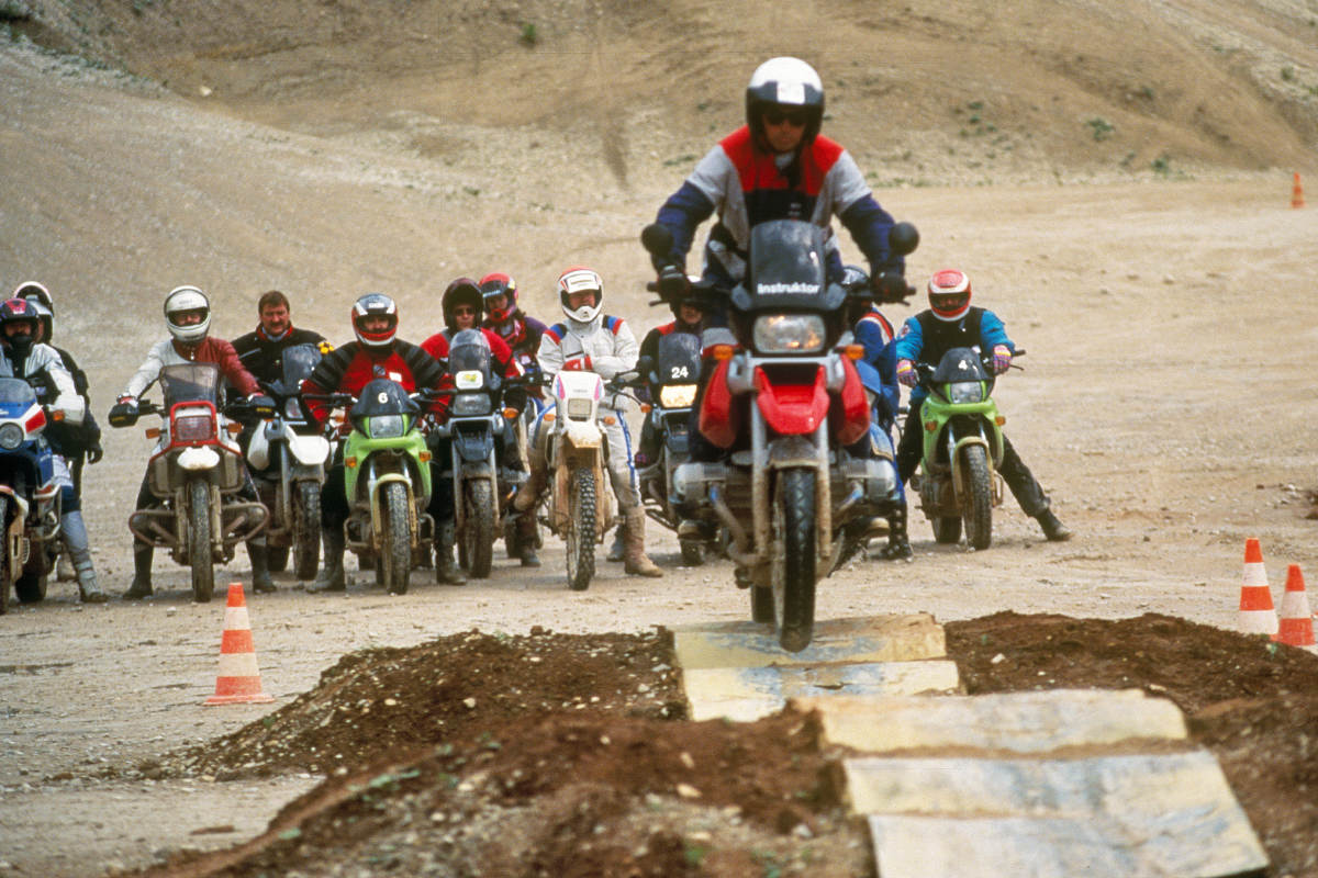 BMW Enduro Park Celebrates 25 Years Riding 1990s