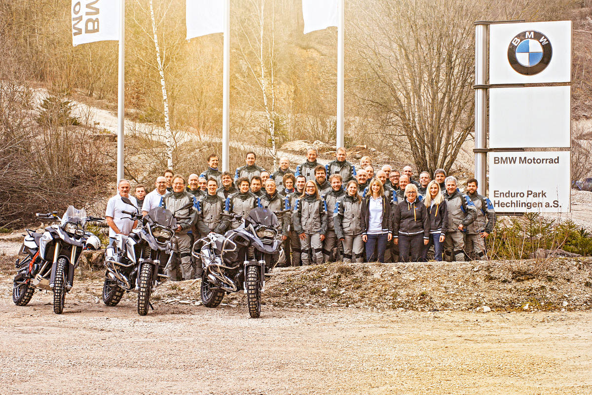 BMW Enduro Park Celebrates 25 Years Staff