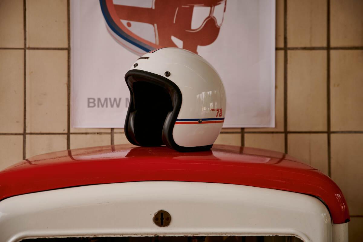 BMW Motorrad 40 Years Collection Jet Motorcycle Helmet
