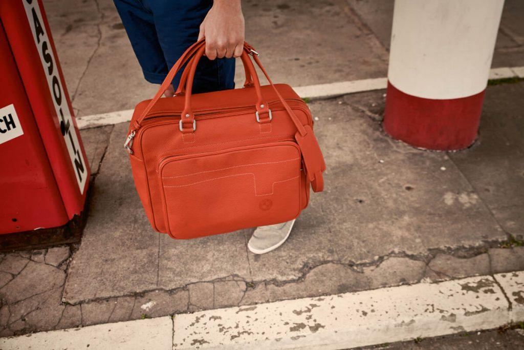 BMW Motorrad 40 Years Collection Weekender Travel Bag
