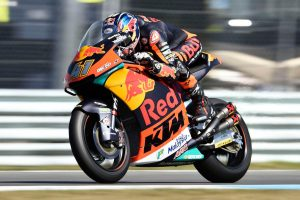 Brad Binder Sticks With KTM In Moto2 For 2019 In action at the TT Circuit Assen 2018