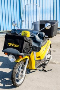 Croatian Post Office Orders 250 Piaggio Liberty Delivery Scooters