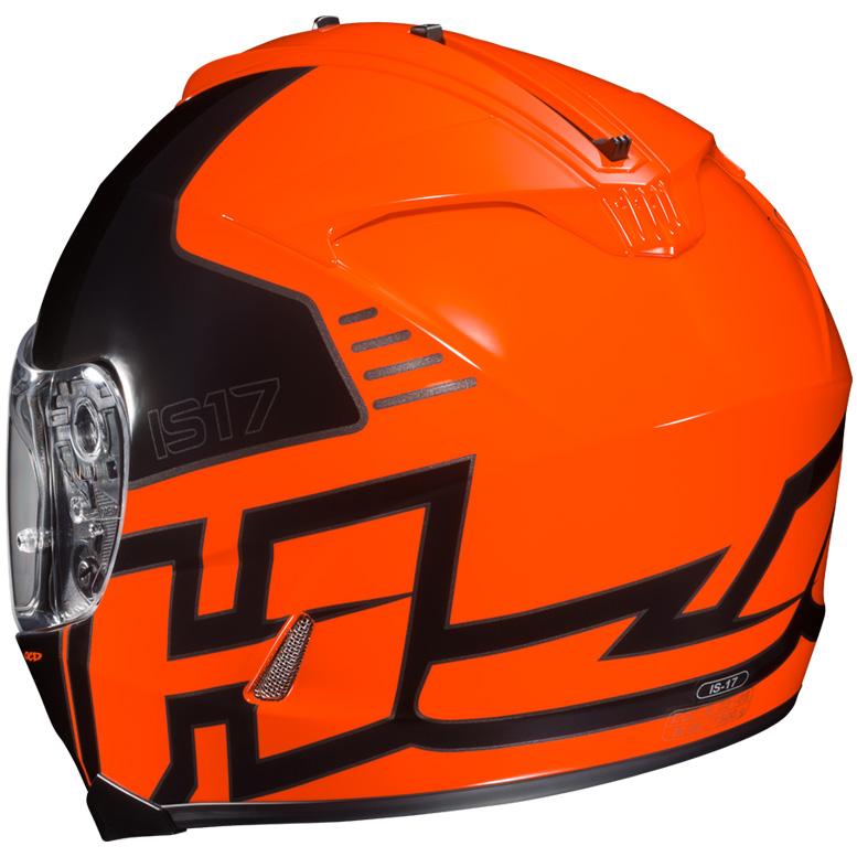 HJC IS-17 Helmet Rear