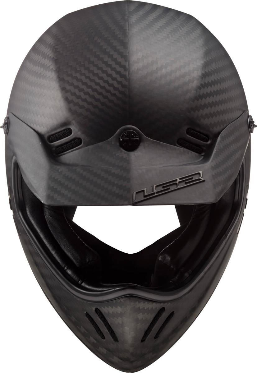 LS2 Xtra Motorcycle Helmet Top With Short Peak
