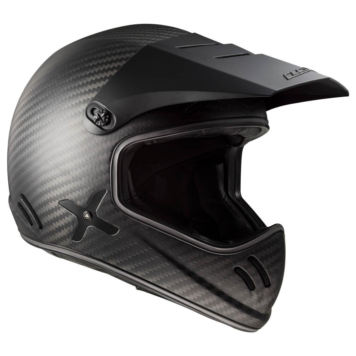 The LS2 Xtra Motorcycle Helmet