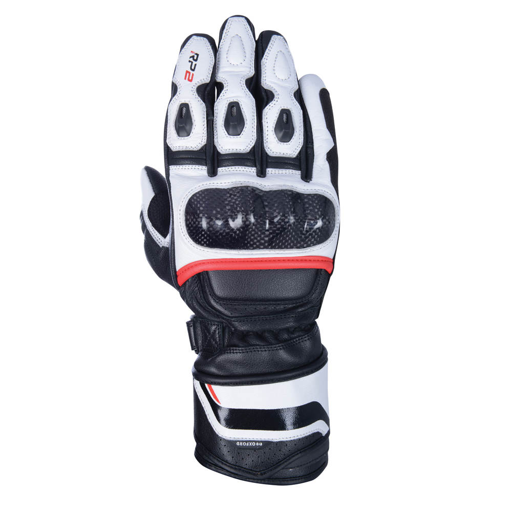 Oxford Products RP-2 2.0 Sports Glove White, Black and Red