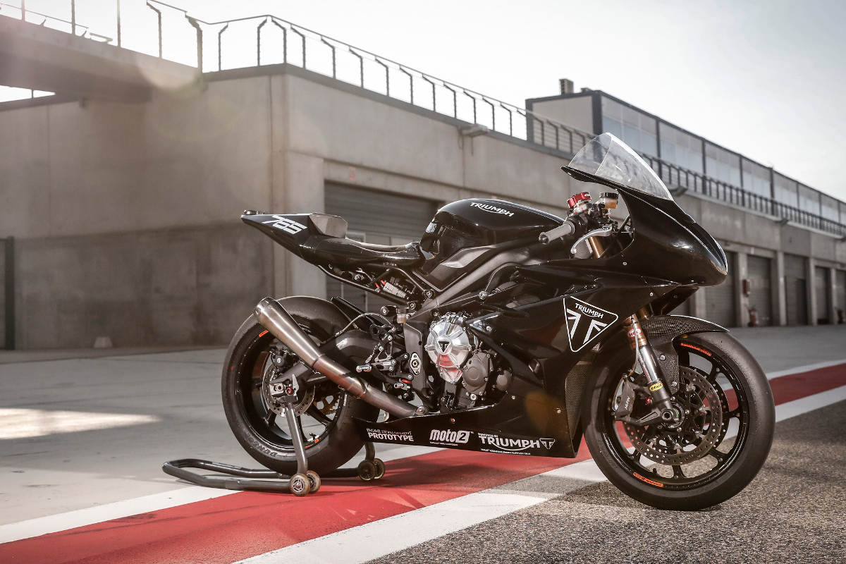 See The Triumph Moto2 Test Bike In Action At The 2018 Goodwood Festival of Speed