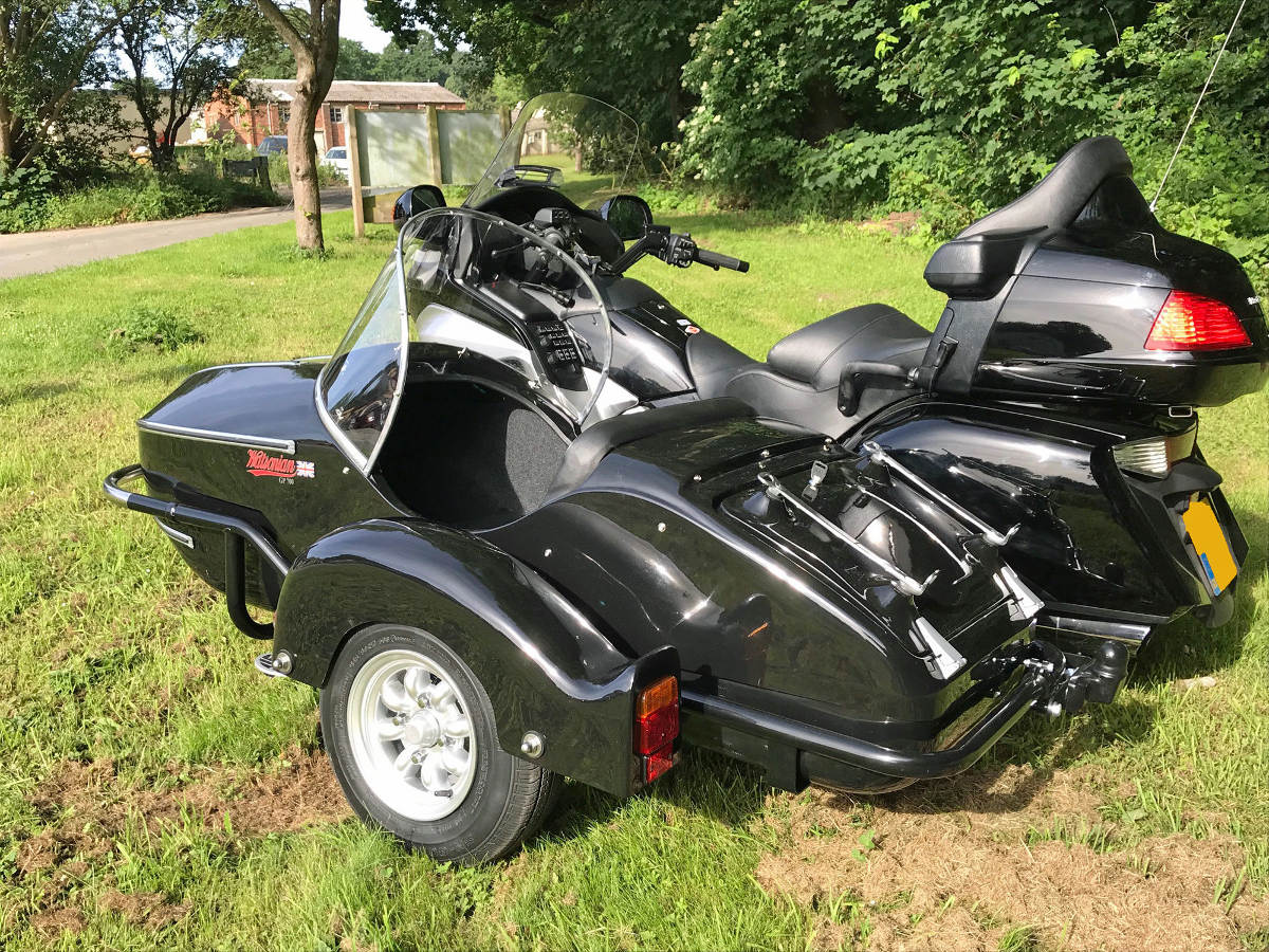 Watsonian Sidecars for the Honda GL1800 Gold Wing 2nd Generation Side
