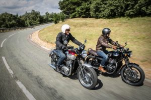 Win Free Insurance With Approved Used Triumphs - 2016 Triumph Bonneville T120 and T120 Black