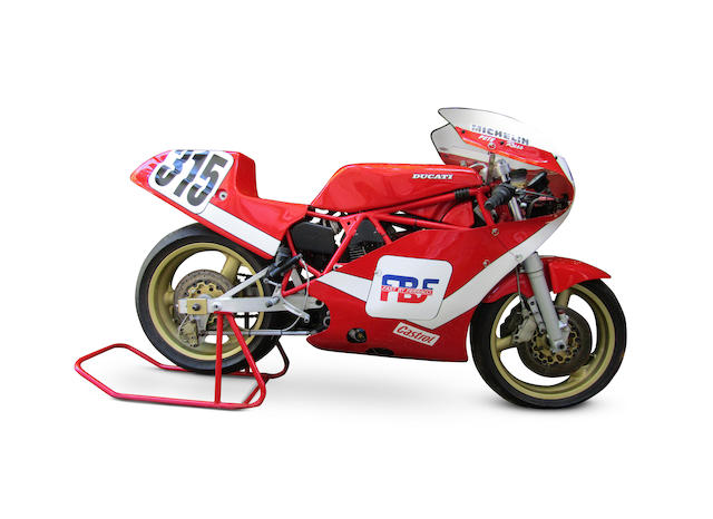 ex-Pete Johnson, Dale Quarterley 1985 Ducati-NCR 850