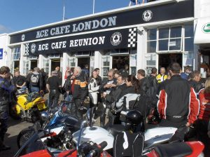 Blaze Wear and Ace Cafe Team Up To Promote Heated Clothing Ace Cafe Reunion Weekend