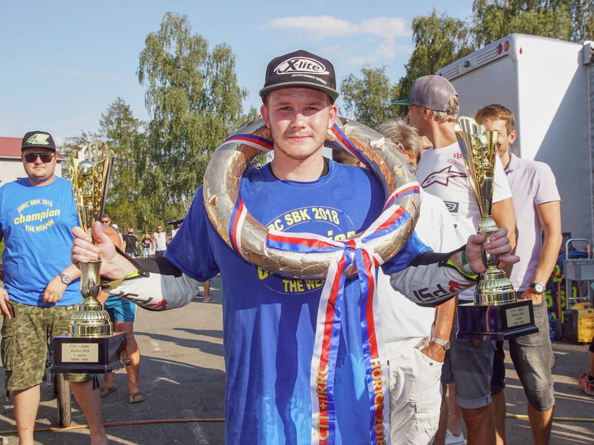 Danny Webb Wins The 2018 International Road Racing Championship Czech Republic Win