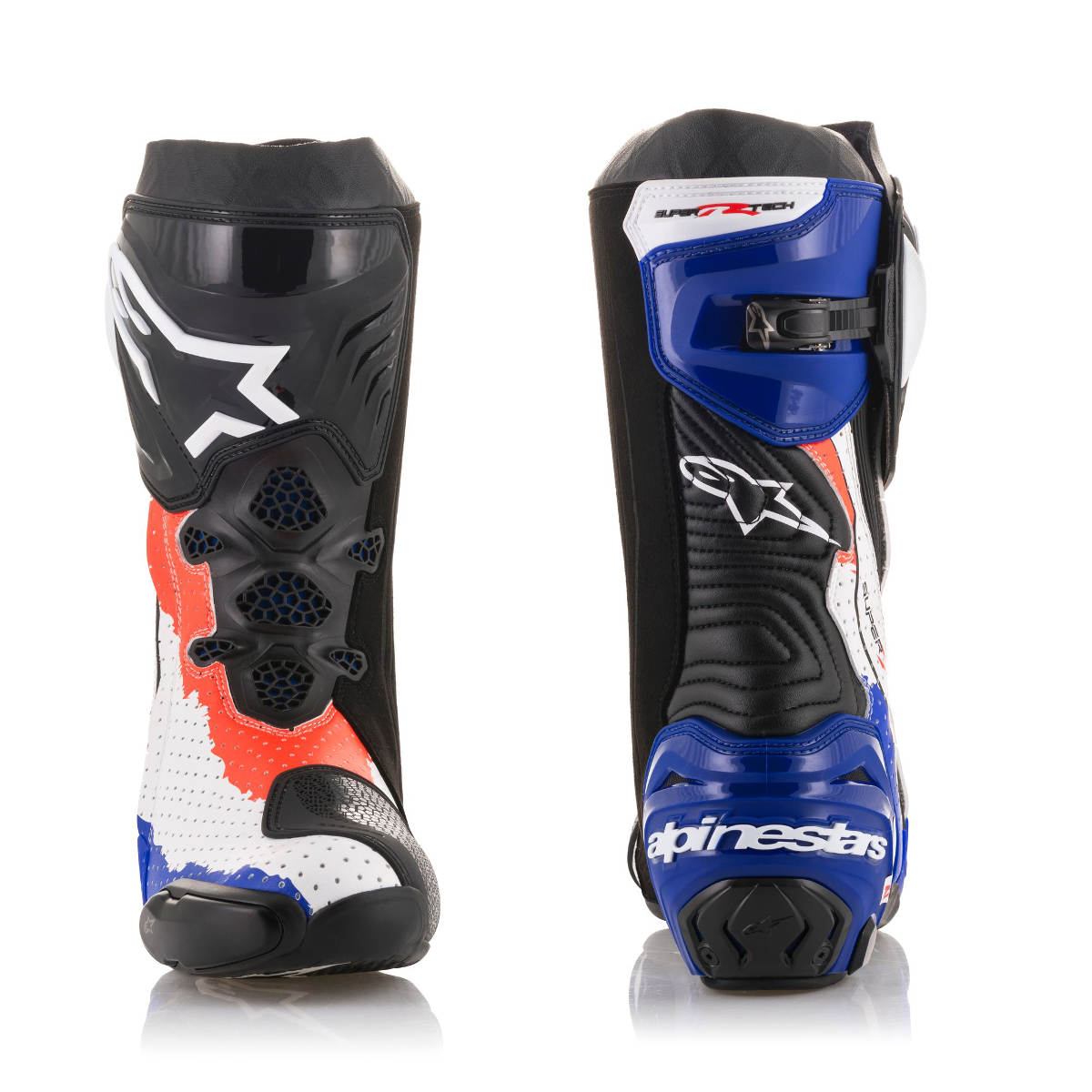 2018 Limited Edition Mick Doohan Alpinestars Supertech R Race Replica Boots Front and Back
