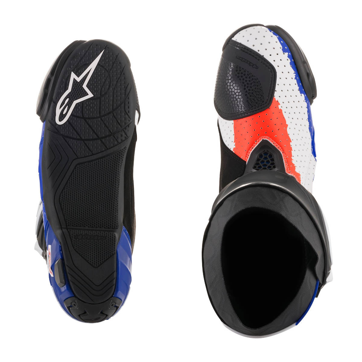 2018 Limited Edition Mick Doohan Alpinestars Supertech R Race Replica Boots Top and Bottom