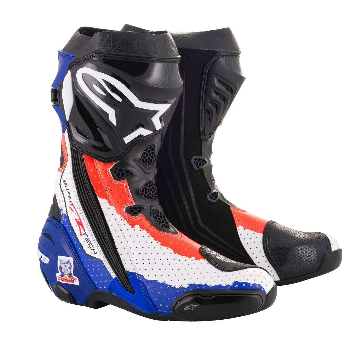 2018 Limited Edition Mick Doohan Alpinestars Supertech R Race Replica Boots