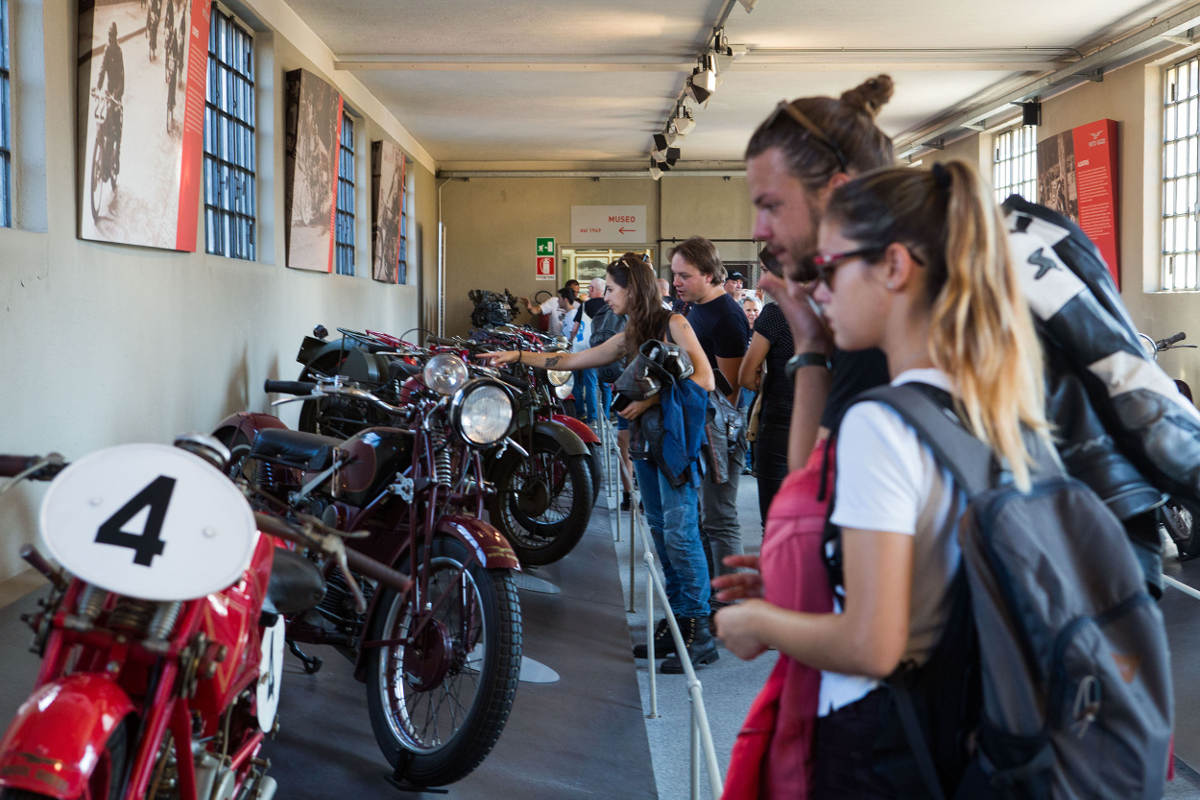 30,000 Bike Fans At The 2018 Moto Guzzi Open House - Museum