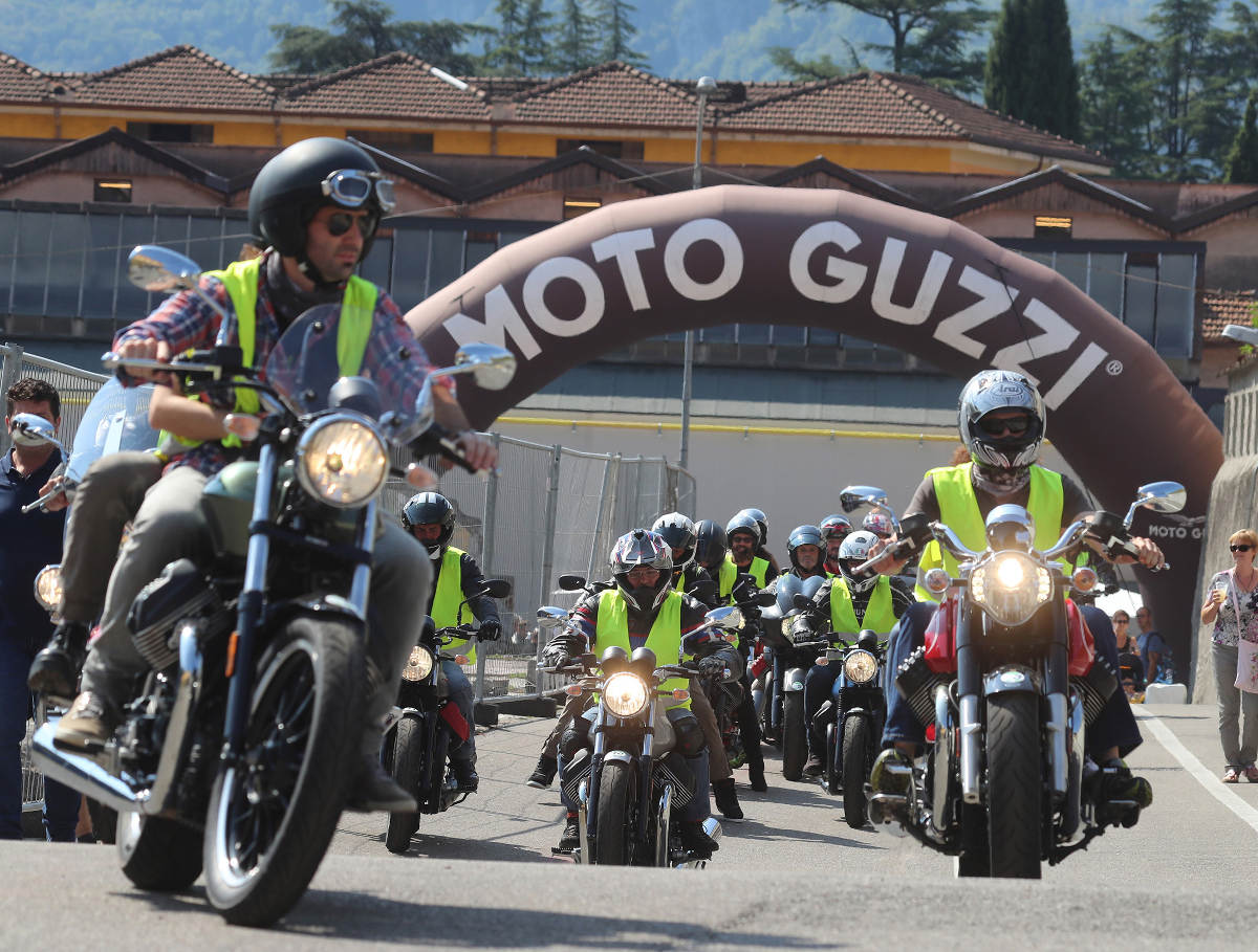 30,000 Bike Fans At The 2018 Moto Guzzi Open House - Test Rides