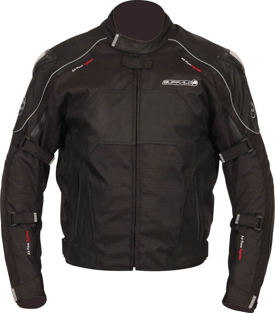 New Buffalo Atom Textile Motorcycle Jacket Front