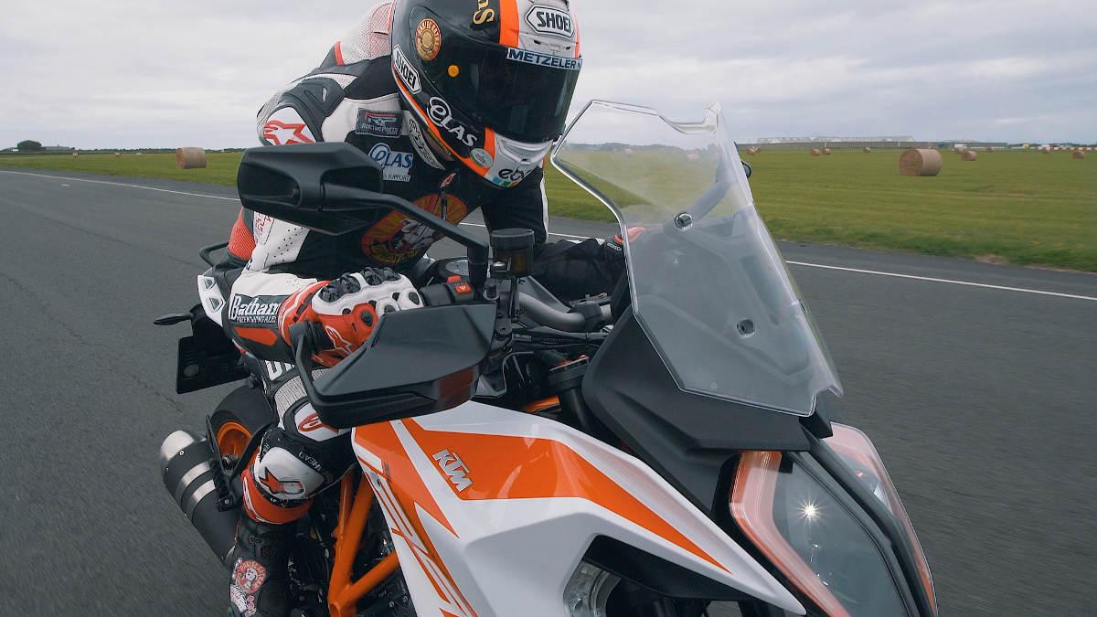 2019 KTM 1290 Super Duke GT On The Isle of Man Close Up
