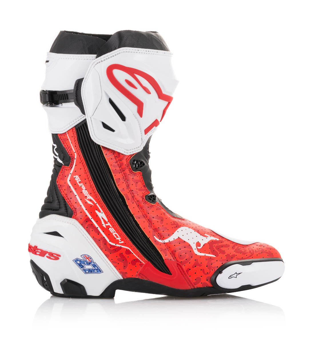 Limited Edition Alpinestars Stoner Supertech R Boots Outer Side