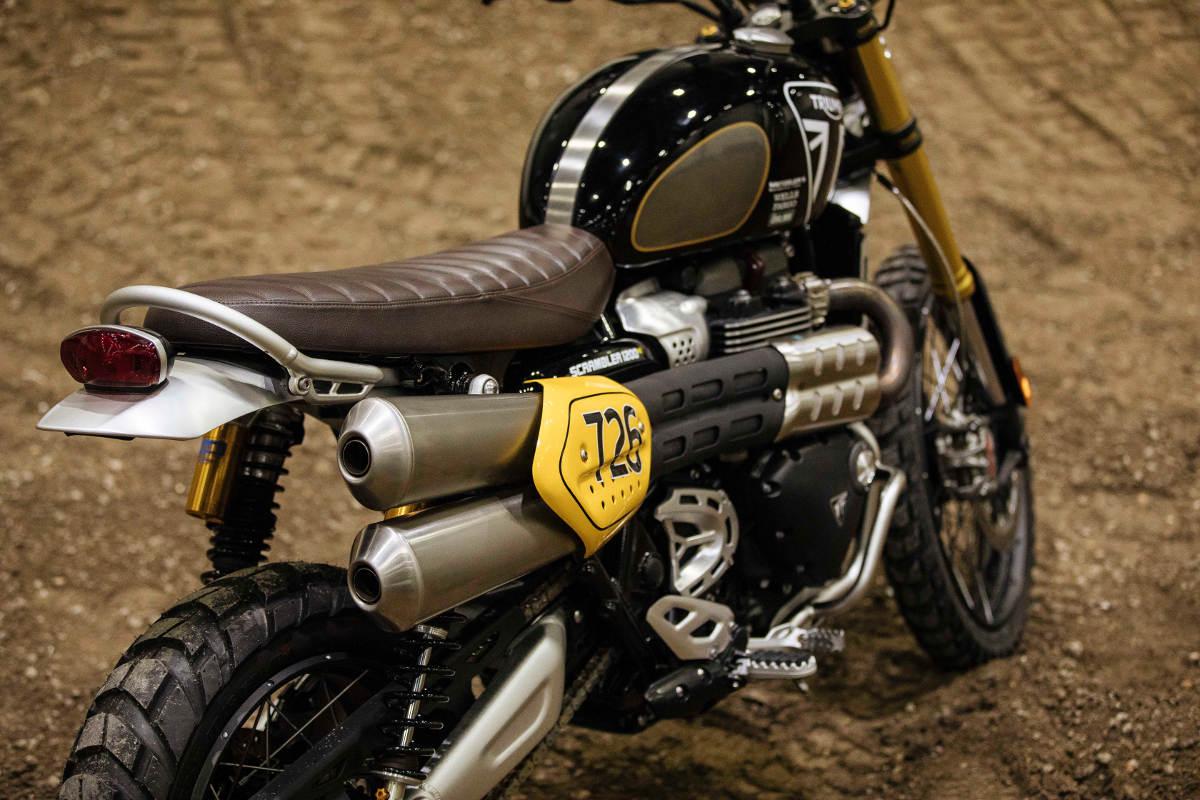 Triumph Enter The New Scrambler 1200 XE For The Baja 1000 - The Bike Close Up