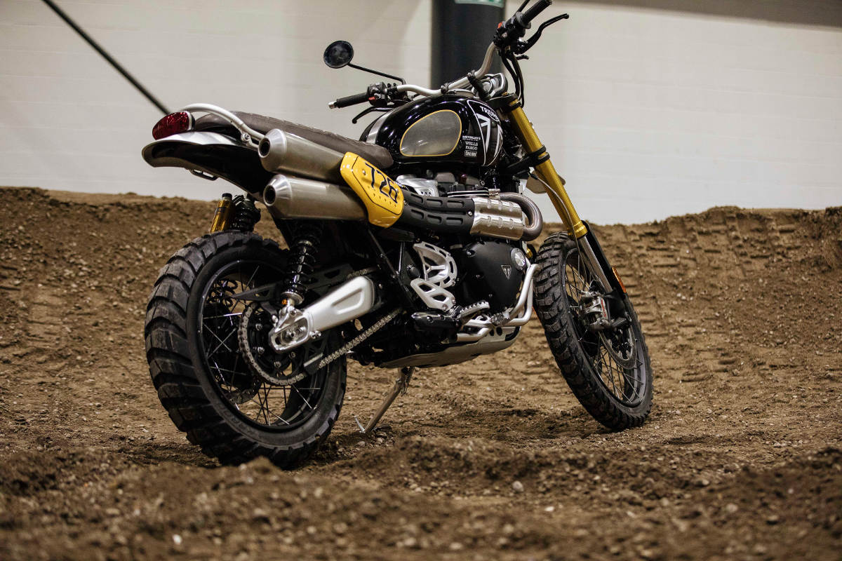 Triumph Enter The New Scrambler 1200 XE For The Baja 1000 - The Bike